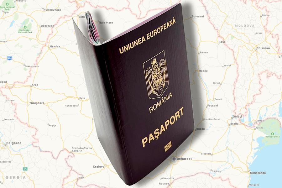 109 ani de existenta a pasaportului romanesc