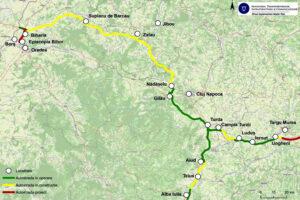 a fost semnat contractul pentru intocmirea documentatiilor cadastrale in vederea exproprierilor necesare constructiei a 80 km din autostrada transilvania