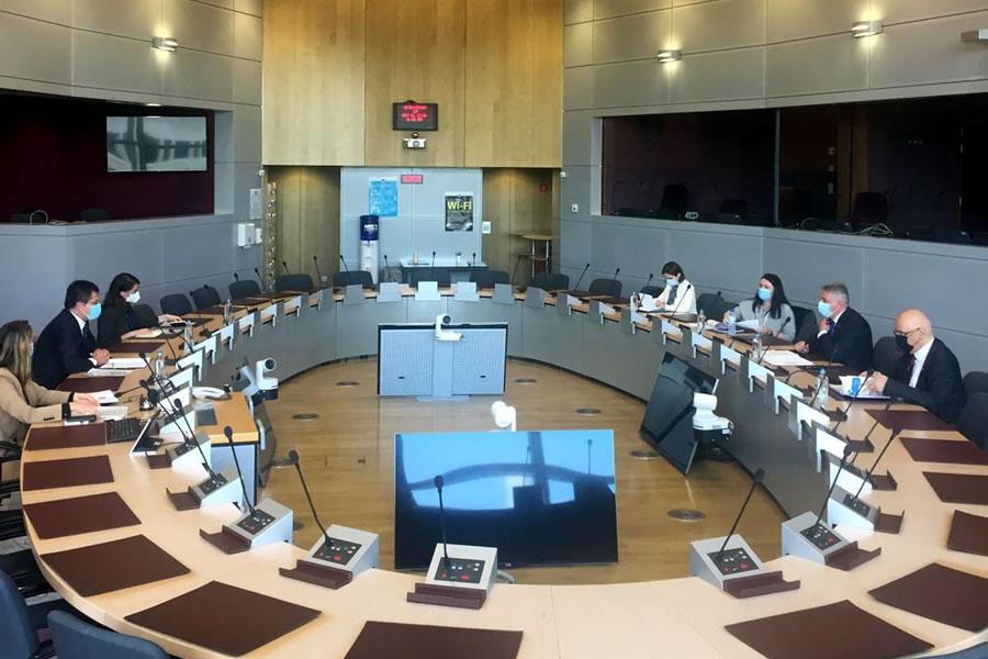 vizita de lucru la bruxelles privind proiectele de investitii prin pnrr propuse de catre ministerul afacerilor interne